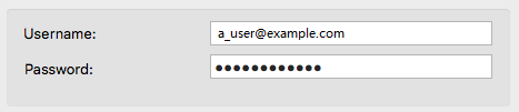 Telephony login options
