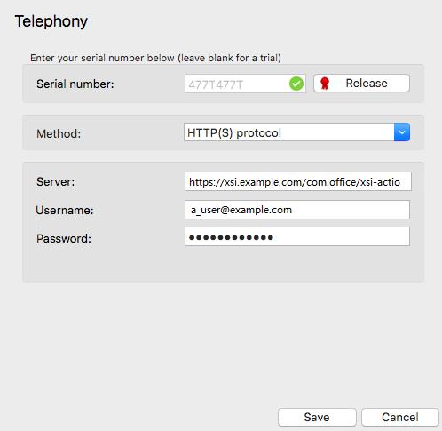 Telephony options